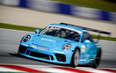 Kæmpe chance for Bastian Buus: Debuterer i Porsche Carrera Cup