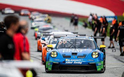 Bastian Buus nu hurtigste rookie i Porsche Carrera Cup Deutschland