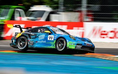Bastian Buus blev udfordret på Monza