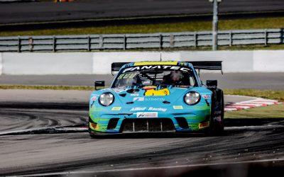 Bastian Buus viste stærk performance i GT World Challenge-løb på Nürburgring