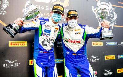 Bastian Buus bevarede GT4-føring trods udfordringer på Spa-Francorchamps